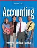 Accounting Chapters 1-18 and Integrator CD, Bamber and Horngren, Charles T., 0131456199