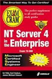 MCSE NT Server 4 in the Enterprise Exam Cram, Tittel, Ed, 1576106195