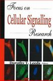 Focus on Cellular Signalling Research, Leeds, Dorothy T., 1594546193