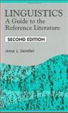 Linguistics, Anna L. DeMiller, 1563086190
