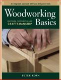 Woodworking Basics, Peter Korn, 156158620X