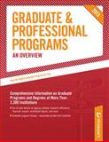 Graduate and Professional Programs: an Overview 2013, Peterson's, 0768936209