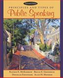 Principles and Types of Public Speaking, McKerrow, Raymie E. and Gronbeck, Bruce E., 0205456219