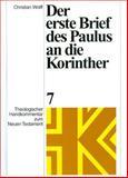 Der erste Brief des Paulus an die Korinther, Wolff, Christian, 3374016227