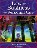 Law for Business and Personal Use, Adamson, John E., 0538436220