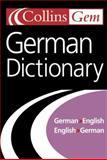German Dictionary, HarperCollins Publishers Ltd. Staff, 0007126239