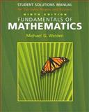 Fundamentals of Mathematics, Welden, Michael G. and Adams, Holli, 0495106232