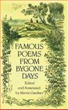 Famous Poems from Bygone Days, , 0486286231