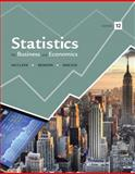 Statistics for Business and Economics, Benson, P. George and Sincich, Terry, 032182623X
