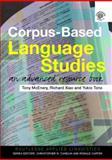 Corpus-Based Language Studies, Richard Xiao, 0415286239