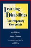 Learning Disabilities : Contemporary Viewpoints, Cratty, Bryant J. and Goldman, Richard L., 3718606232
