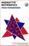 Ingenuity in Mathematics, Ross Honsberger, 0883856239