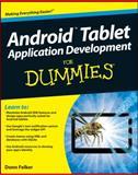 Android Tablet Application Development for Dummies, Donn Felker, 1118096231