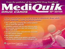 MediQuik Drug Cards, Lippincott Williams &  Wilkins, 1609136233