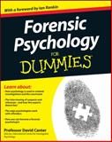 Forensic Psychology for Dummies, David D. Canter, 1119976243