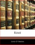 Rime, Luigi D&apos Eredia and Luigi d' Eredia, 1141336243