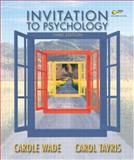 Invitation to Psychology, Wade and Tavris, Carol, 0131146246