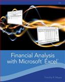 Financial Analysis with Microsoft Excel, Mayes, Timothy R. and Shank, Todd M., 1111826242