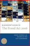 The Fraud Act 2006, Farrell, Simon and Ladenburg, Guy, 0199296243