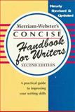 Merriam-Webster's Concise Handbook for Writer's, Merriam-Webster, Inc. Staff, 0877796254