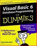 Visual Basic6 Database Programming for Dummies, Richard Mansfield, 0764506250