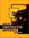 Basic Construction Materials, Marotta, Theodore W., 013089625X