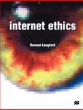 Internet Ethics, Langford, Duncan, 0333776267