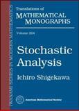 Stochastic Analysis, Shigekawa, Ichiro, 0821826263