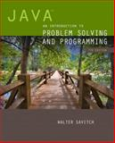 Java : An Introduction to Problem Solving and Programming, Savitch, Walter, 0133766268