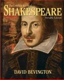 Complete Works of Shakespeare : The Portable Edition, Bevington, David, 0321366263