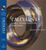 Calculus I : Early Transcendental Functions, Larson, Ron and Hostetler, Robert P., 0618606262