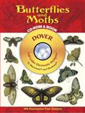 Butterflies and Moths, Albertus Seba, 0486996271