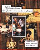 Generations : Composition et Conversation en Francais, Guther, Beatrice and Parker, Marcia, 003024627X