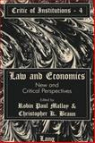 Law and Economics : New and Critical Perspectives, , 082042627X