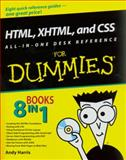 HTML, XHTML, and CSS, Harris, Andy and McCulloh, Chris, 0470186275