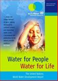 Water for People Water for Life, UNESCO Staff, 1571816275