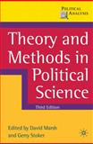 Theory and Methods in Political Science, , 0230576273