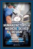 Handbook of Human Factors in Medical Device Design, Weinger, Matthew Bret, 0805856277