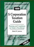 1999 S-Corporation Tax Guide, Jamison, 0156066289
