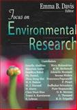 Focus on Environmental Research, Davis, Emma B., 1594546282