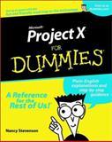 Microsoft® Project 2002 for Dummies®, Nancy Stevenson, 0764516280