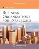 Business Organizations for Paralegals, Fifth Edition, Bouchoux, Deborah E., 0735576289