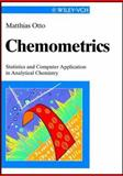 Chemometrics : Statistics and Computer Applications in Analytical Chemistry, Otto, Matthias, 352729628X