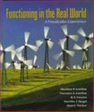 Functioning in the Real World : A Precalculus Experience, Gordon, Sheldon P., 0201846284