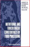 Nutritional and Toxicological Consequences of Food Processing, , 1489926283