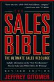 The Sales Bible, Jeffrey Gitomer, 0471456292