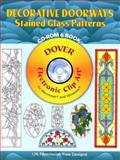Decorative Doorways Stained Glass Patterns, Carolyn Relei, 0486996298