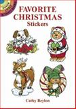 Favorite Christmas Stickers, Cathy Beylon, 0486286290