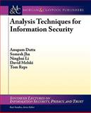 Analysis Techniques for Information Security, Jha, Somesh and Melski, David, 1598296299