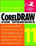 CorelDRAW 11 for Windows, Steve Schwartz and Phyllis Davis, 0321136292